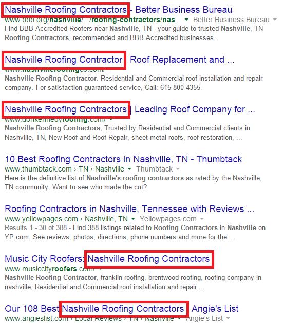 Roofers Nashville